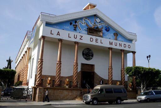 (AP Photo/Marcio Jose Sanchez). The exterior of a La Luz del Mundo church branch is seen Thursday, June 6, 2019, in Los Angeles. California's top prosecutor said Thursday that he believes there are more victims of child sex abuse than those listed in c...