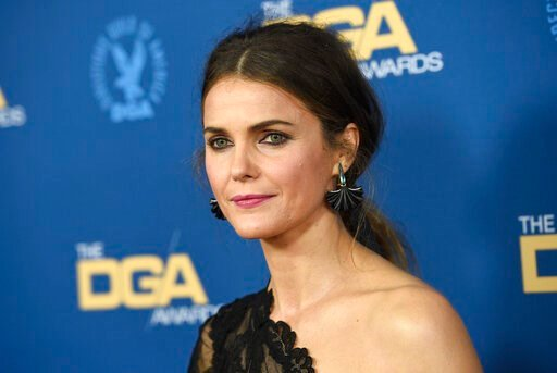 "(Photo by Chris Pizzello/Invision/AP, File). FILE- In this Feb. 2, 2019 photo, Keri Russell arrives at the 71st annual DGA Awards at the Ray Dolby Ballroom in Los Angeles. Russell says she cried when she read J.J. Abrams' version of the script for ""Sta..."