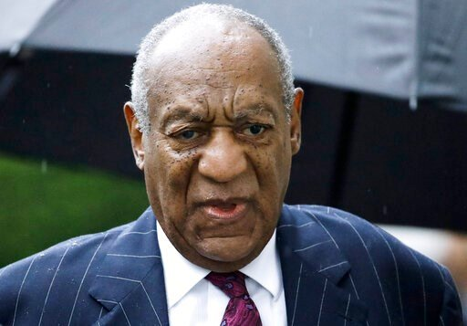 (AP Photo/Matt Rourke, File). FILE - In this Sept. 25, 2018, file photo, Bill Cosby arrives for a sentencing hearing following his sexual assault conviction at the Montgomery County Courthouse in Norristown Pa. Cosby has filed a lengthy appeal of the s...
