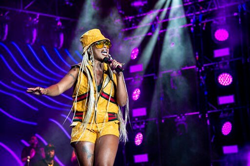 (Photo by Amy Harris/Invision/AP, File). FILE - In this July 7, 2018 file photo, Mary J. Blige performs at the 2018 Essence Festival at the Mercedes-Benz Superdome in New Orleans. Blige will take part in the Essence Festival, marking 25 years of celebr...