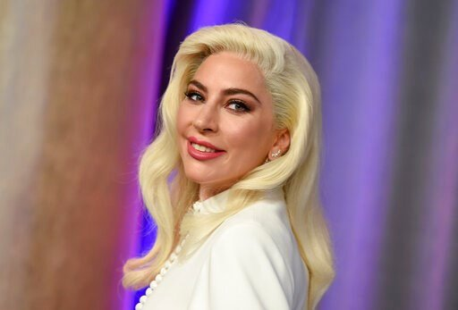 (Photo by Jordan Strauss/Invision/AP, File). FILE - This Feb. 4, 2019 file photo shows Lady Gaga at the 91st Academy Awards Nominees Luncheon in Beverly Hills, Calif. The Oscar-winning singer announced her upcoming beauty line, Haus Laboratories, repor...