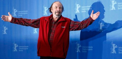 """(AP Photo/Markus Schreiber, File). FILE - In this Wednesday, Feb. 11, 2009, file photo, U.S. actor Rip Torn poses during a photo call for the competition movie """"Happy Tears,"""" at the Berlinale in Berlin. Award-winning television, film and theater actor ..."""