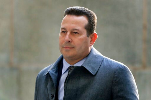(AP Photo/Julio Cortez, File). FILE - In this Jan. 25, 2019 file photo, Attorney Jose Baez arrives at New York Supreme Court in New York. Baez is going to court Thursday, June 11, to get a judge's permission to leave Harvey Weinstein's defense team. Ba...