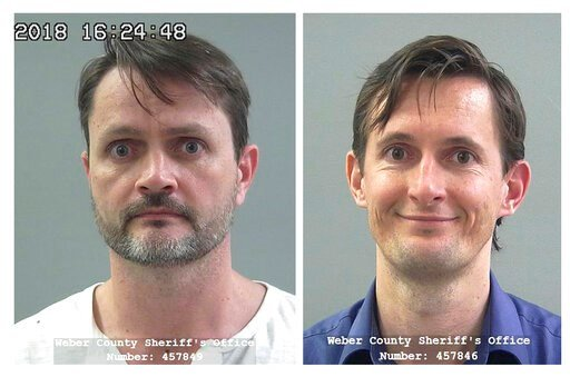 (Weber County Sheriff's Office via AP, File). FILE - These undated file photos released by the Weber County Sheriff's Office show Jacob Kingston, left, and Isaiah Kingston. Two executives of a Salt Lake City biodiesel company linked to a polygamous gro...