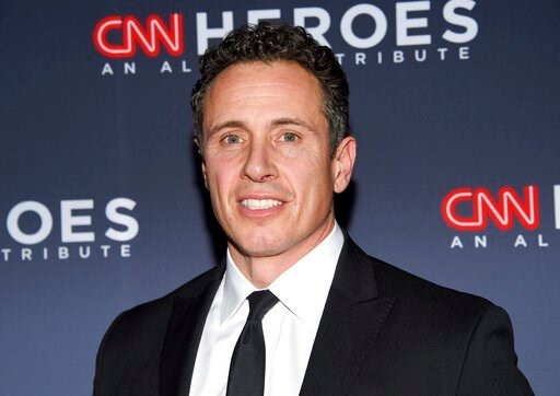 (Photo by Evan Agostini/Invision/AP, File). FILE - In this Dec. 8, 2018 file photo, CNN anchor Chris Cuomo attends the 12th annual CNN Heroes: An All-Star Tribute at the American Museum of Natural History in New York.  CNN says it completely supports C...