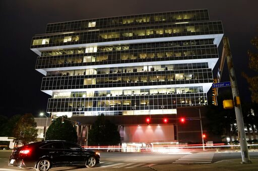 (AP Photo/Frank Franklin II). Cars pass Purdue Pharma headquarters Thursday, Sept. 12, 2019, in Stamford, Conn. For months, the judge overseeing national litigation over the opioids crisis urged all sides to reach a settlement that could end thousands ...