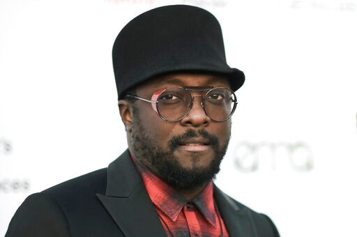 (Photo by Richard Shotwell/Invision/AP, File). FILE - In this Sept. 23, 2017 file photo, will.i.am attends the 27th annual EMA Awards at Barker Hangar in Santa Monica, Calif. The Black Eyed Peas musician has accused a flight attendant from Australia's ...
