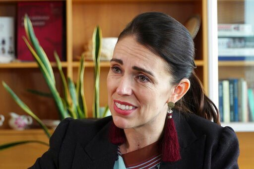(AP Photo/Sam James). In this image made from video, New Zealand's Prime Minister Jacinda Ardern speaks during an interview in Wellington, New Zealand, Thursday, Dec. 5, 2019. Ardern said she'll do all she can to stop a man accused of killing 51 Muslim...