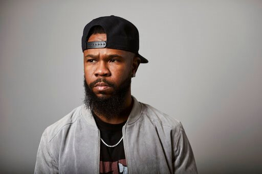 """(Photo by Matt Licari/Invision/AP). This Nov. 18, 2019 photo shows Grammy award-winning rapper Chamillionaire posing for a portrait in New York. A co-founder of popular underground Texas group the Color Changin' Click, is best known for his hit """"Ridin ..."""