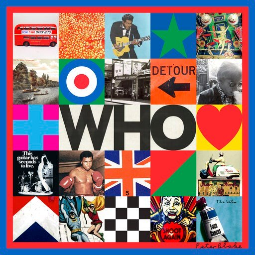 "(Interscope via AP). This cover image released by Interscope Records shows ""Who,"" by The Who."