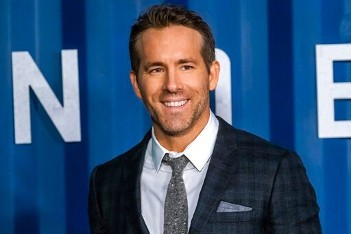 "(Photo by Charles Sykes/Invision/AP). Ryan Reynolds attends the premiere of Netflix's ""6 Underground"" at The Shed at Hudson Yards on Tuesday, Dec. 10, 2019, in New York."
