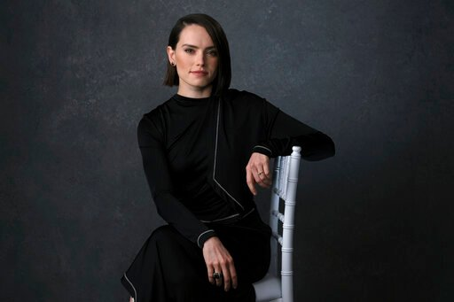"(AP Photo/Chris Pizzello). Daisy Ridley poses for a portrait to promote the film ""Star Wars: The Rise of Skywalker"" on Tuesday. Dec. 3, 2019, in Pasadena, Calif. With ""Star Wars: The Rise of Skywalker"" opening in theaters Dec. 20, 2019,  Abrams expects..."
