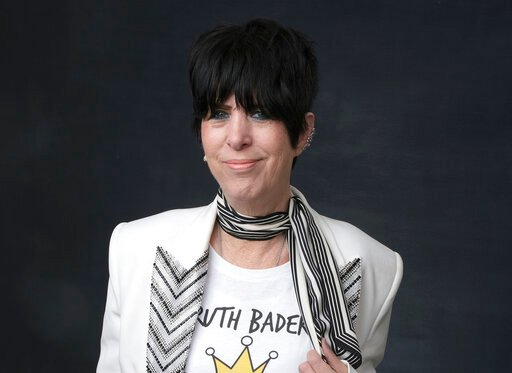 """(Photo by Chris Pizzello/Invision/AP, File). FILE - This Feb. 4, 2019 file photo shows Diane Warren at the 91st Academy Awards Nominees Luncheon in Beverly Hills, Calif.  Warren was nominated for an Oscar for best original song for """"I'm Standing With Y..."""
