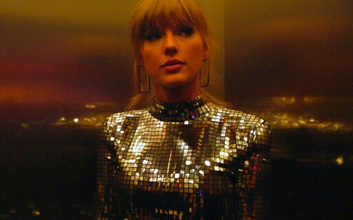"""(Sundance Institute via AP). This image released by the Sundance Institute shows a scene from """"Taylor Swift: Miss Americana,"""" an official selection of the Documentary Premieres program at the 2020 Sundance Film Festival."""