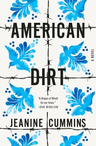 "(Flatiron Books vía AP). En esta imagen difundida por Flatiron Books, la portada de ""American Dirt"", una novela de Jeanine Cummins."
