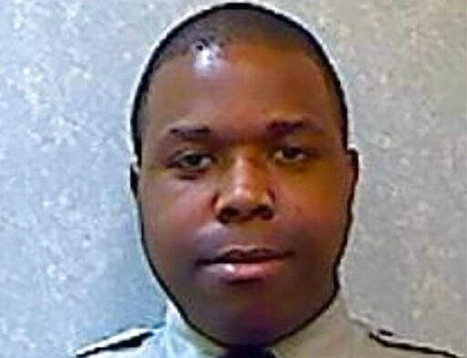 (Prince George's County Police Department via AP). This undated photo provided by the Prince George's County Police Department shows Prince George's County Police Department Cpl. Michael Owen Jr.Owen, accused of shooting and killing a handcuffed man i...