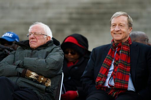 In S Carolina, Sanders may get boost from billionaire Steyer