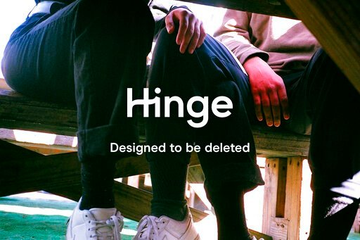 """(Hinge via AP). In this undated photo provided by Hinge is a page from the dating app. Justin McLeod, who launched Hinge in 2011, thinks that dating apps should be focused on getting people offline. Hinge's tag line is """"the app that's designed to be de..."""