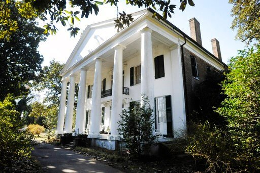 (AP Photo/Jay Reeves). In this Jan. 30, 2020 photo, the Magnolia Grove, an antebellum plantation house in Greensboro, Ala., is seen. The home's entry in the National Register of Historic Places doesn't mention its ties to slavery even though visitors c...