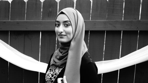 (Jawaher Ali/Threa Almontaser/Courtesy of Academy of American Poets via AP). This undated photo provided by the Academy of American Poets shows Threa Almontaser, the 2020 Walt Whitman Award Winner.
