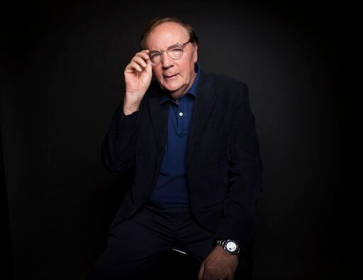 (Photo by Taylor Jewell/Invision/AP, File). FILE - In this Aug. 30, 2016, file photo, author James Patterson poses for a portrait in New York. Patterson announced #SaveIndieBookstores, a partnership with the American Booksellers Association and the Boo...