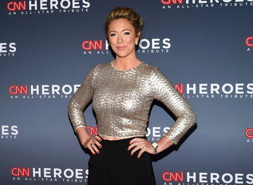 (Photo by Evan Agostini/Invision/AP, File). FILE - This Dec. 17, 2017 file photo shows CNN news anchor Brooke Baldwin at the 11th annual CNN Heroes: An All-Star Tribute at the American Museum of Natural History in New York. Baldwin says she's tested po...