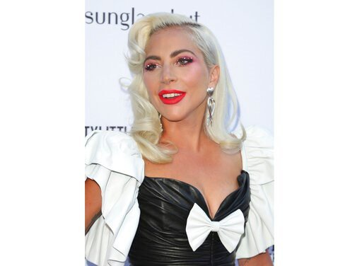 (Photo by Willy Sanjuan/Invision/AP, File). FILE - This March 17, 2019 file photo shows Lady Gaga at the 2019 Daily Front Row's Fashion Los Angeles Awards in Beverly Hills, Calif. Gaga and advocacy organization Global Citizen have raised millions to fi...