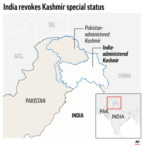 Pakistan downgrades diplomatic ties with India over Kashmir