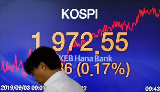Asian stocks lower after US-China trade jitters resurface