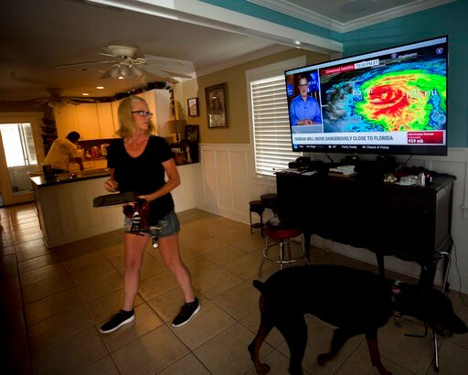 Weather-tested residents brace for Dorian on Southeast coast