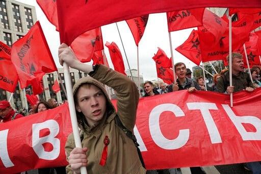 Protests over Russian local election make Kremlin nervous