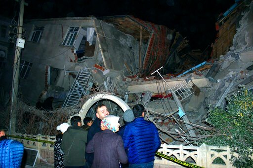 Image result for 22 Killed and 1000 Injured after Magnitude 6.7 Earthquake in Turkey